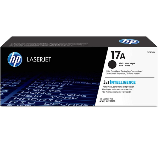 HP 17A-Black Original LaserJet Toner