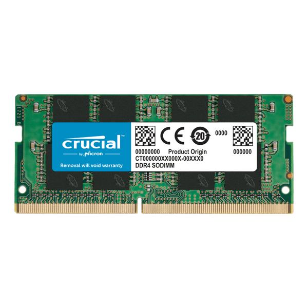 Laptop 32GB RAM Crucial DDR4 2666