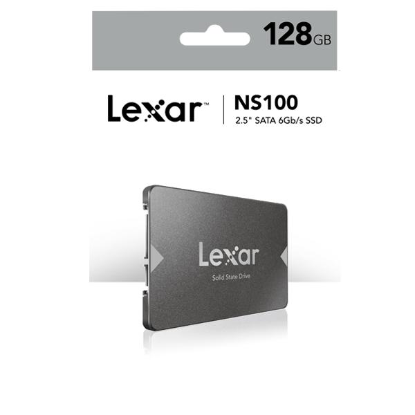 Internal SSD 128GB Lexar NS100 2.5″ SATA III (6Gb/s)