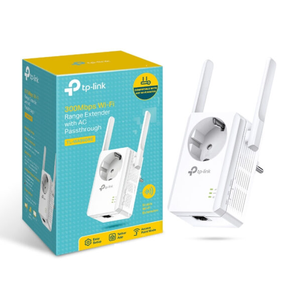 Tp-Link TL-WA860RE Wi-Fi Range Extender 300Mbps with AC Passthrough