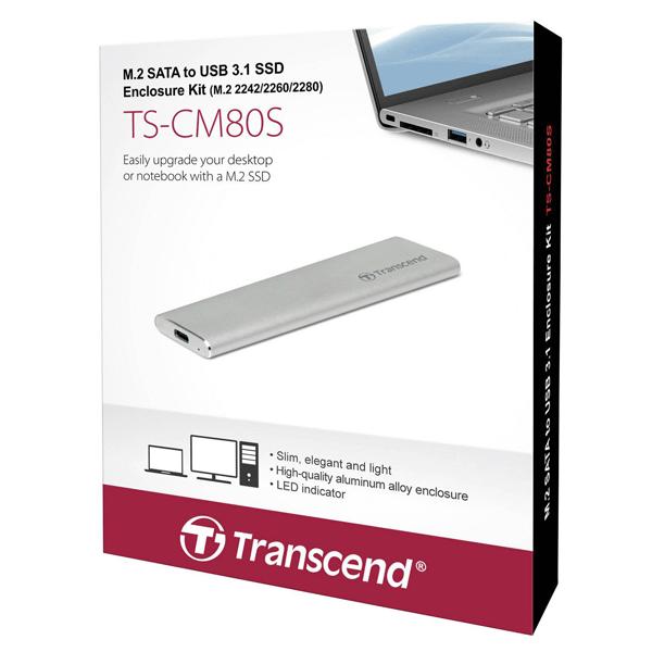 Transcend Enclosure Kit M.2 SSD