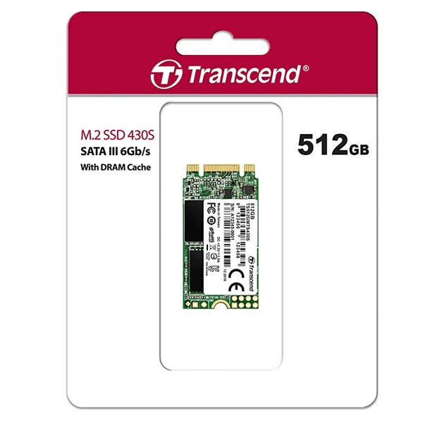 Transcend 430S 512GB Internal SSD Drive M.2 2242 SATA III
