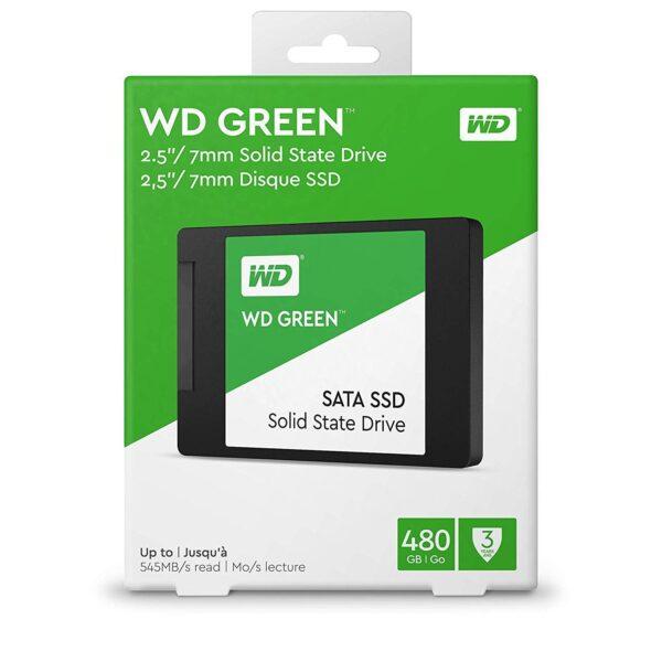 WD Green 480GB Internal PC SSD SATA III 2.5″