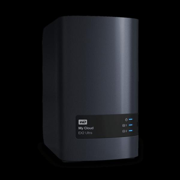 WD 4TB My Cloud EX2 Ultra Storage
