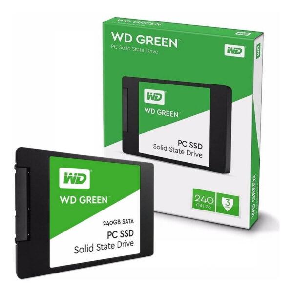 WD Green 240GB Internal PC SSD SATA III 6 Gb/s, 2.5″/7mm