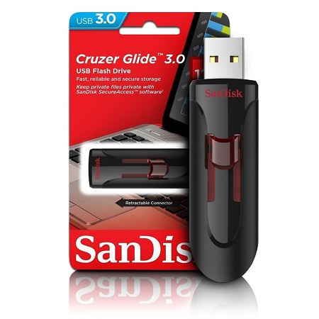 SanDisk 16GB Flash Drive Cruzer Glide USB 3.0