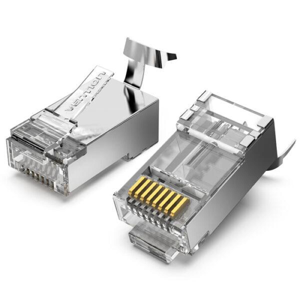Cat 6 RJ45 Plug UTP 50pcs Vention